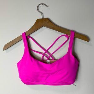 Lululemon hot pink sports bra
